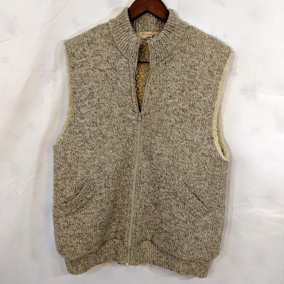 Vintage Other - Vintage Winona Knits Sherpa lined zip up vest